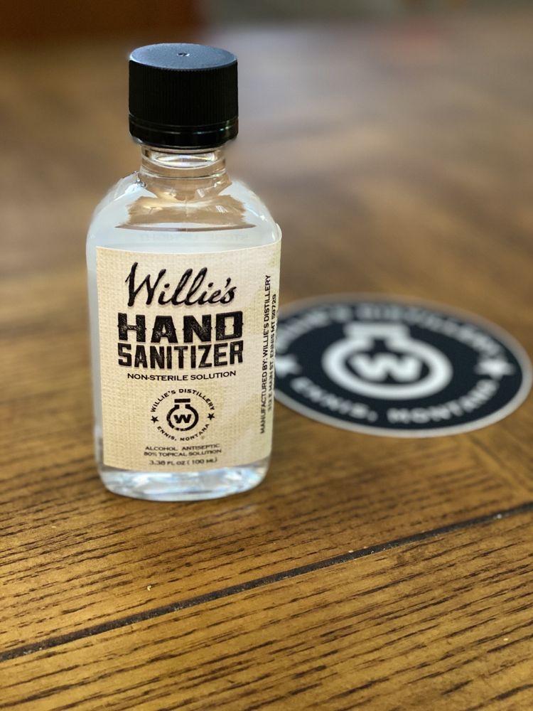 Willie's Distillery: 312 E Main St, Ennis, MT