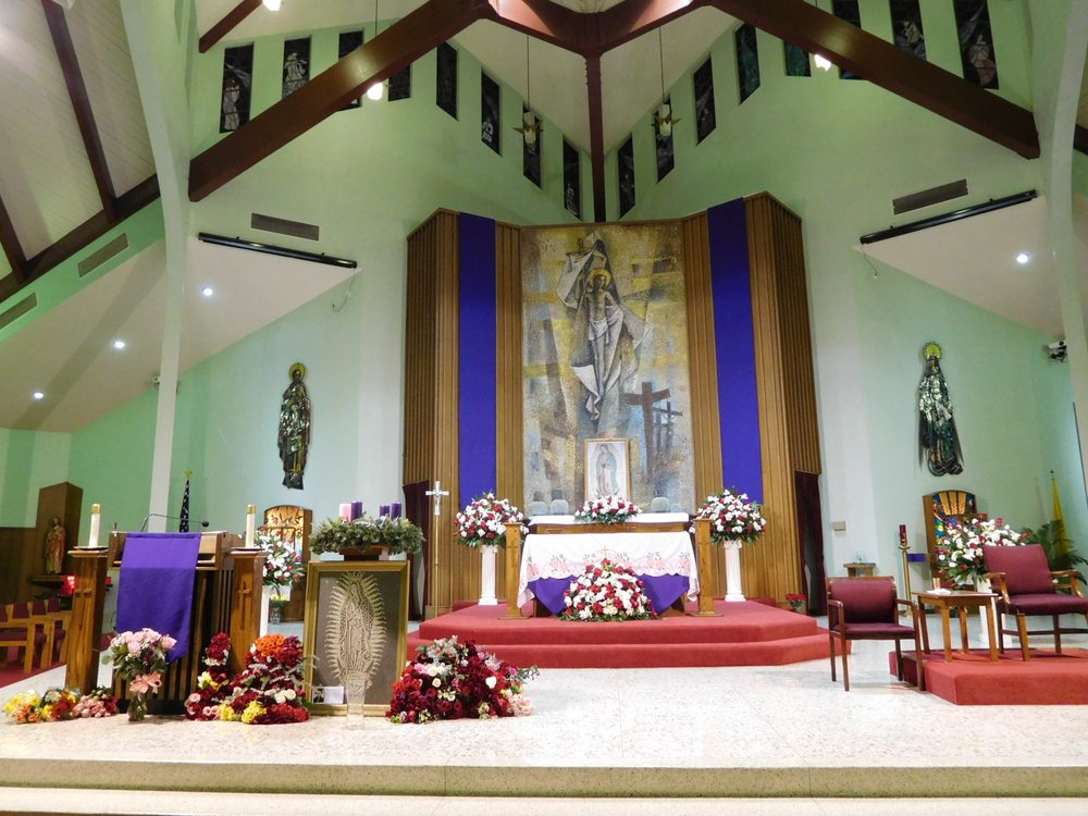 Our Lady of The Miraculous Medal Catholic Church: 820 N Garfield Ave, Montebello, CA
