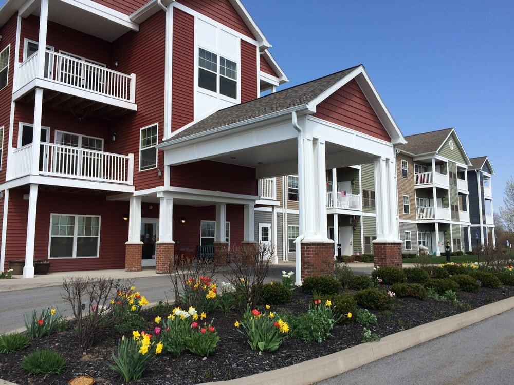 Gardens Senior Apartments: 3503 Canandaigua Rd, Macedon, NY