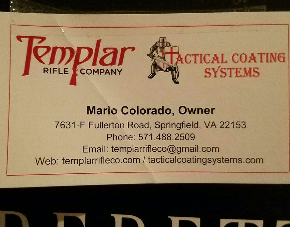 Templar Rifle Company: 7631 Fullerton Rd, Springfield, VA