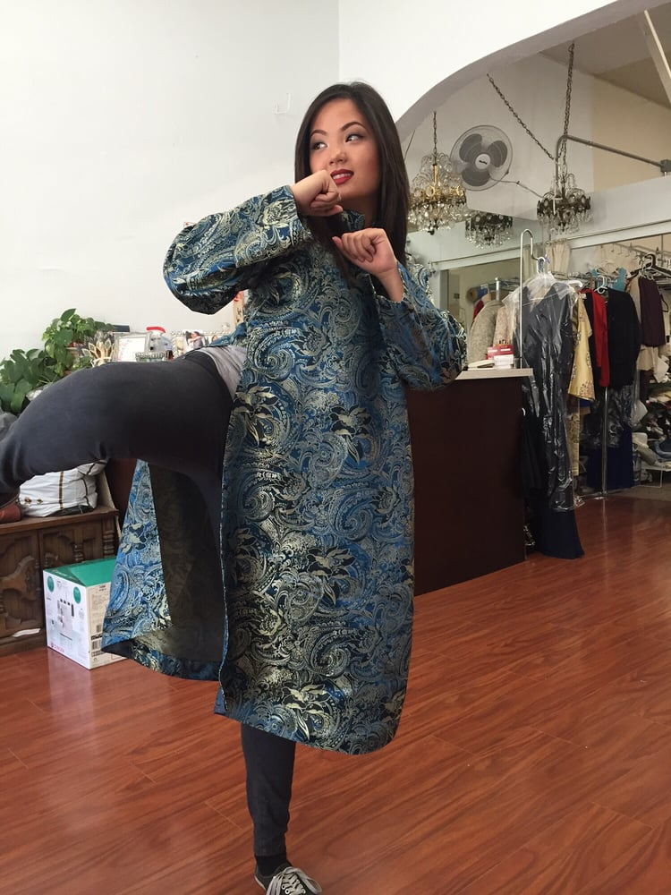 Traditional Men S Changshan Long Shirt Nina Made From