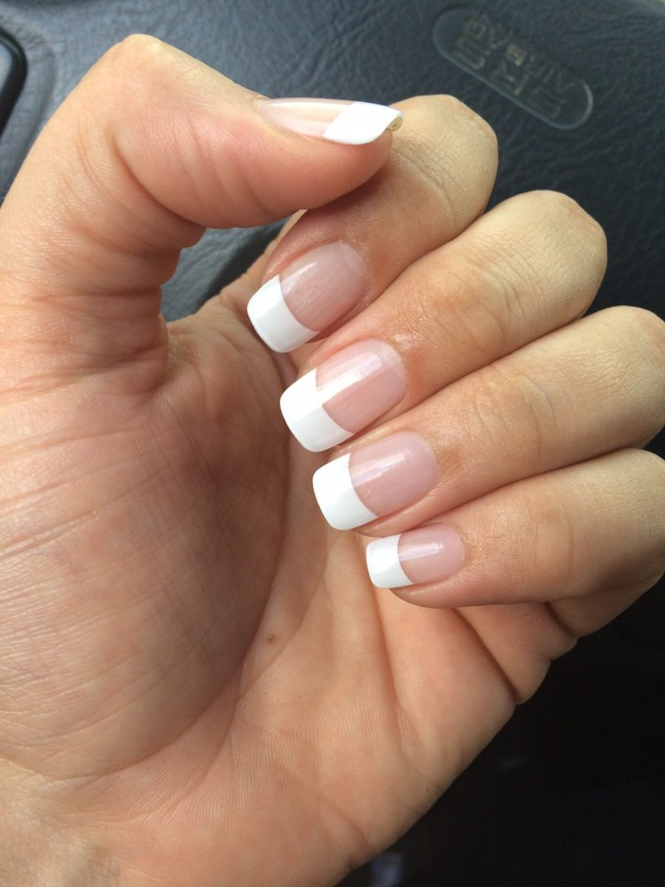 $30 for a french tip full set - Yelp