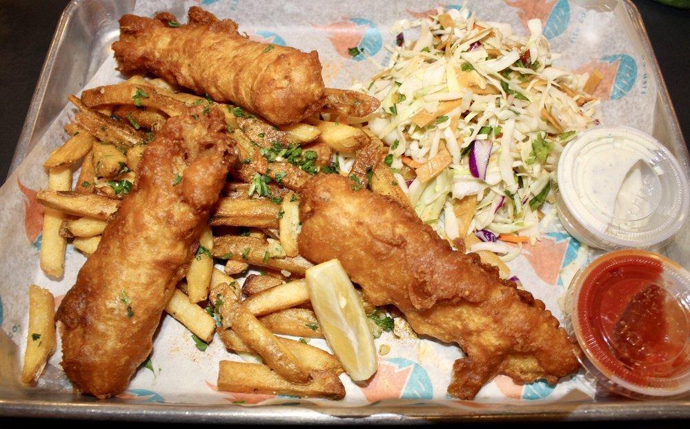 Food from Seasalt Fish Grill - Culver City