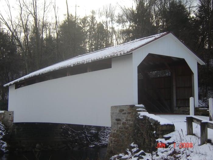 Henninger's Covered Bridge: Motter Rd, Elizabethville, PA