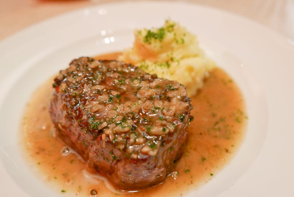 the filet mignon Tenderloin applies to the entire tenderloin strip, while a filet mignon is a slice from short loin the short loin is the small end of the.