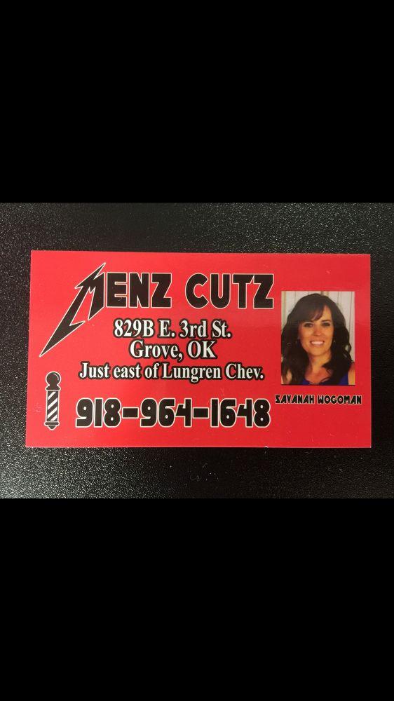 Menz Cutz: 829 East 3rd St, Grove, OK