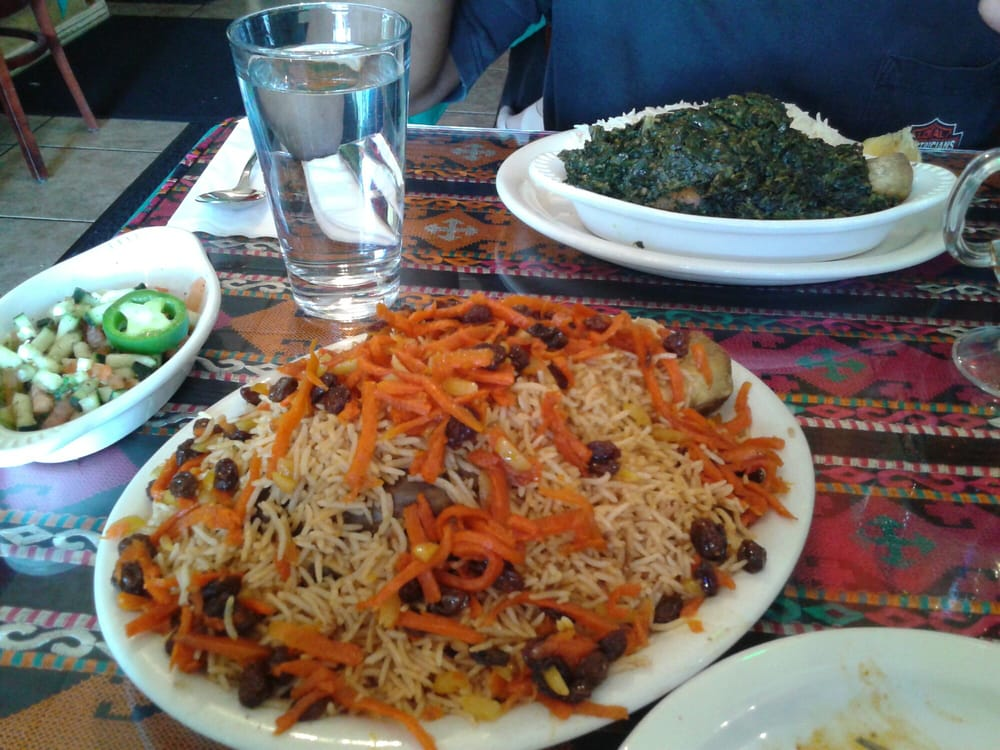 Our spread yelp for Afghan cuisine fremont