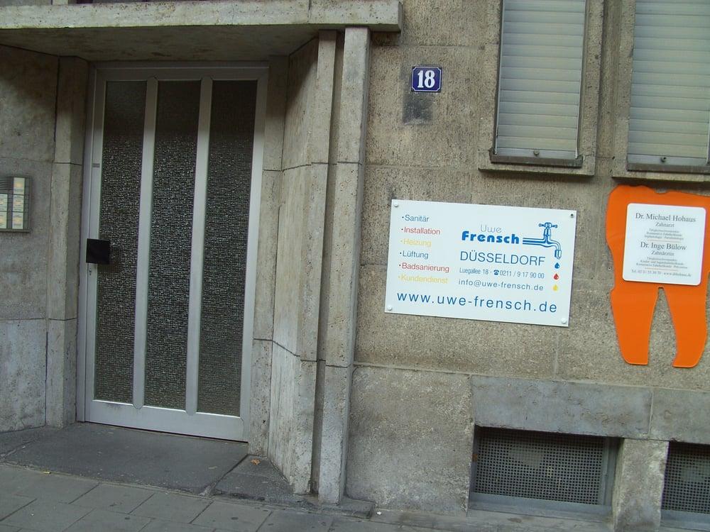 Klempner Düsseldorf uwe frensch klempner installateur luegallee 18 oberkassel düsseldorf nordrhein