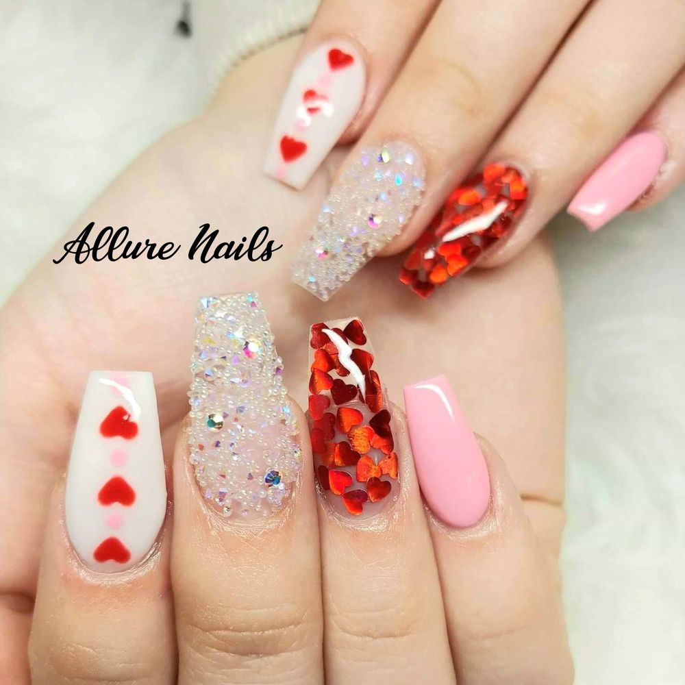 Allure Nails San Juan: 105 South Cesar Chavez Rd, San Juan, TX