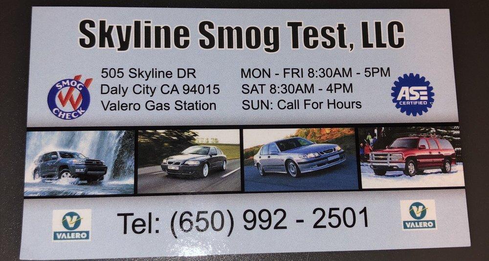 Skyline Smog Test: 505 Skyline Dr, Daly City, CA