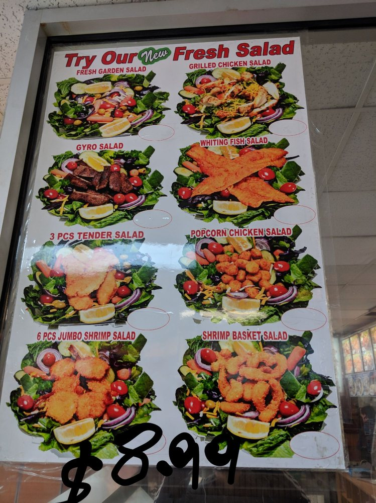 New York Chicken & Grill: 3203 Jefferson Davis Hwy, North Chesterfield, VA