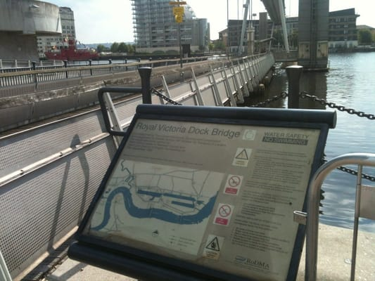 Royal Victoria Dock Bridge Landmarks Historic Buildings