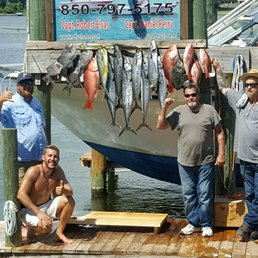 Reel knotty charters 99 photos boating 435 cardinal for Fort walton beach fishing charters