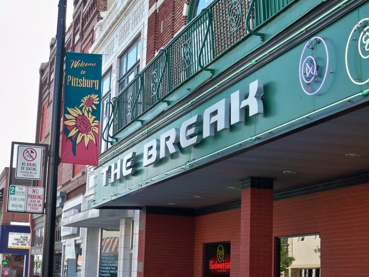 The Break: 607 N Broadway St, Pittsburg, KS