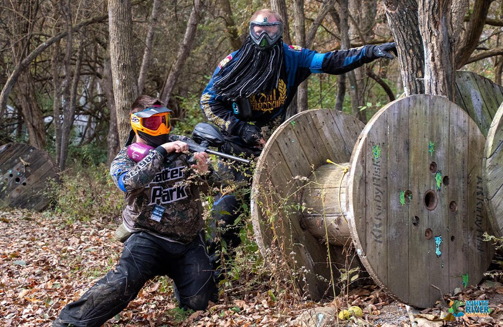 White River Paintball: 5211 S New Columbus Rd, Anderson, IN