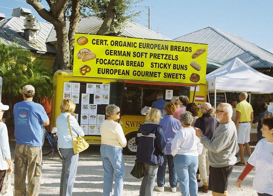 Swiss Baker: 400 E 2nd Ave, New Smyrna Beach, FL