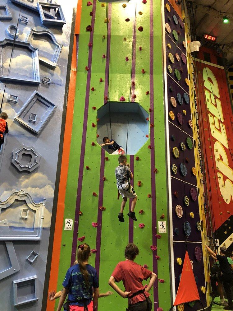 Social Spots from High Exposure Climbing
