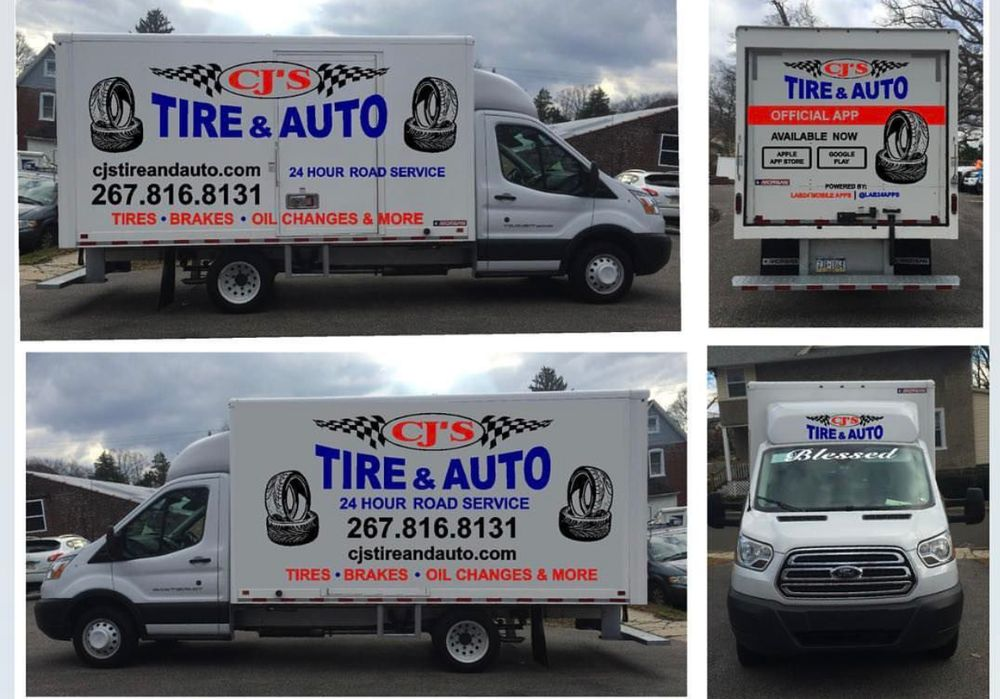 24 Hour Oil Change >> Cjs Tire And Auto New 92 Photos Tires 6801 Oldyork Rd