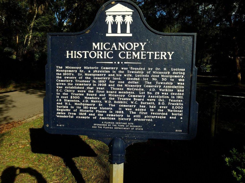 Micanopy Historic Cemetery: Micanopy, FL