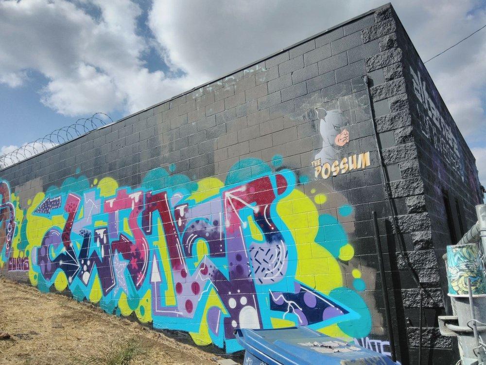 Back Wall Mural Yelp