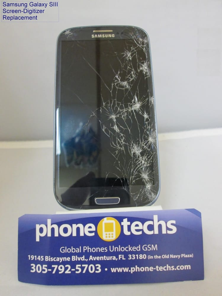 Samsung Galaxy S3 Cracked Screen Repair Miami Amp Aventura