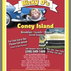Coney Island On Woodward In Royal Oak