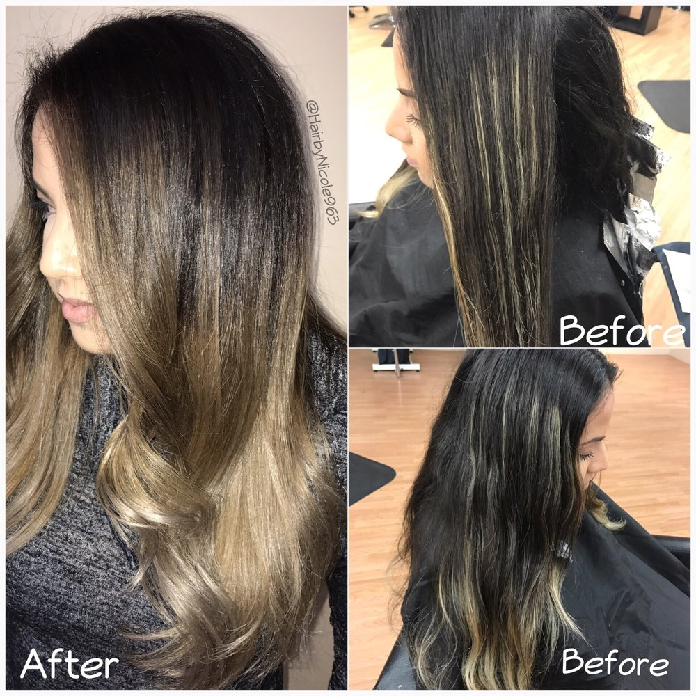 Color Correction From Stripes To A Beautiful Blend Yelp
