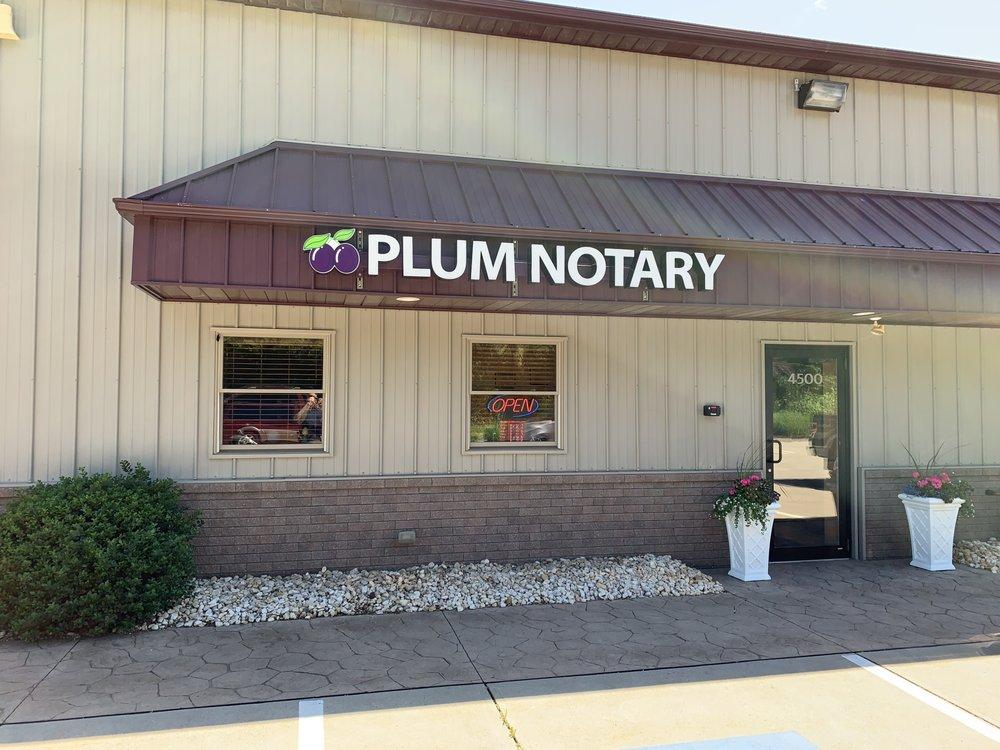 Plum Notary