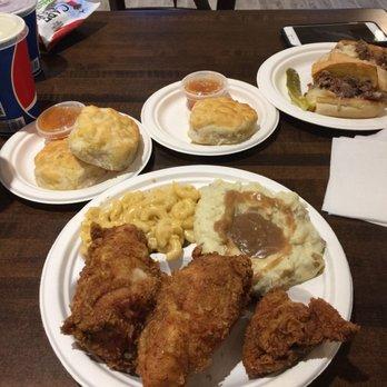Photo Of Mamau0027s Chicken Kitchen   Gatlinburg, TN, United States. Fried  Chicken Plate