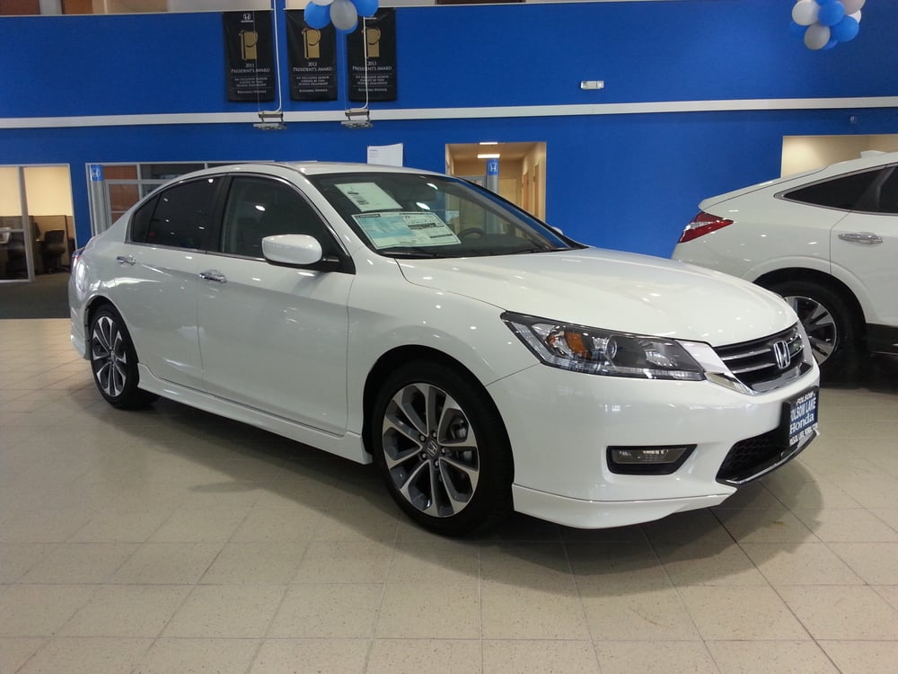 2014 accord sport sedan with optional under body spoilers for Folsom lake honda service