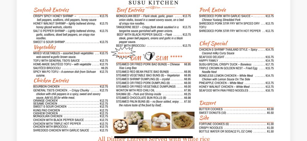 Susu Kitchen: 2529 James St, Syracuse, NY