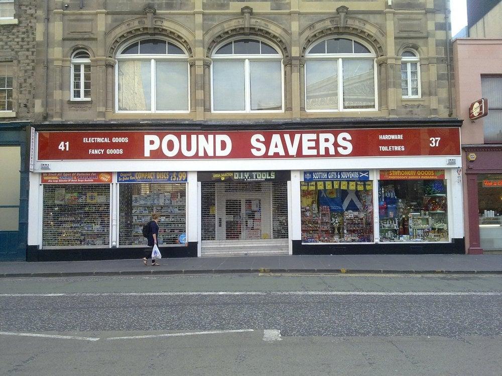 Pound Savers Home Garden 37 41 Nicolson Street