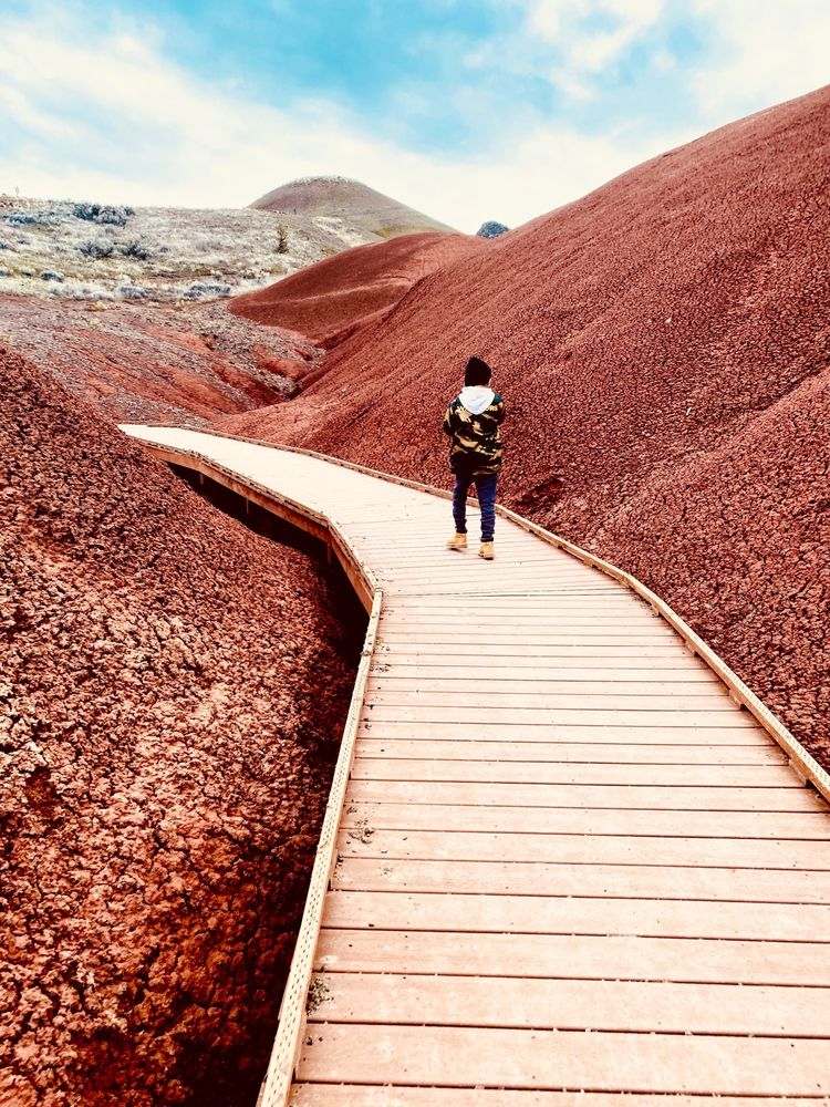 Painted Hills Unit, John Day Fossil Beds: Mitchell, OR