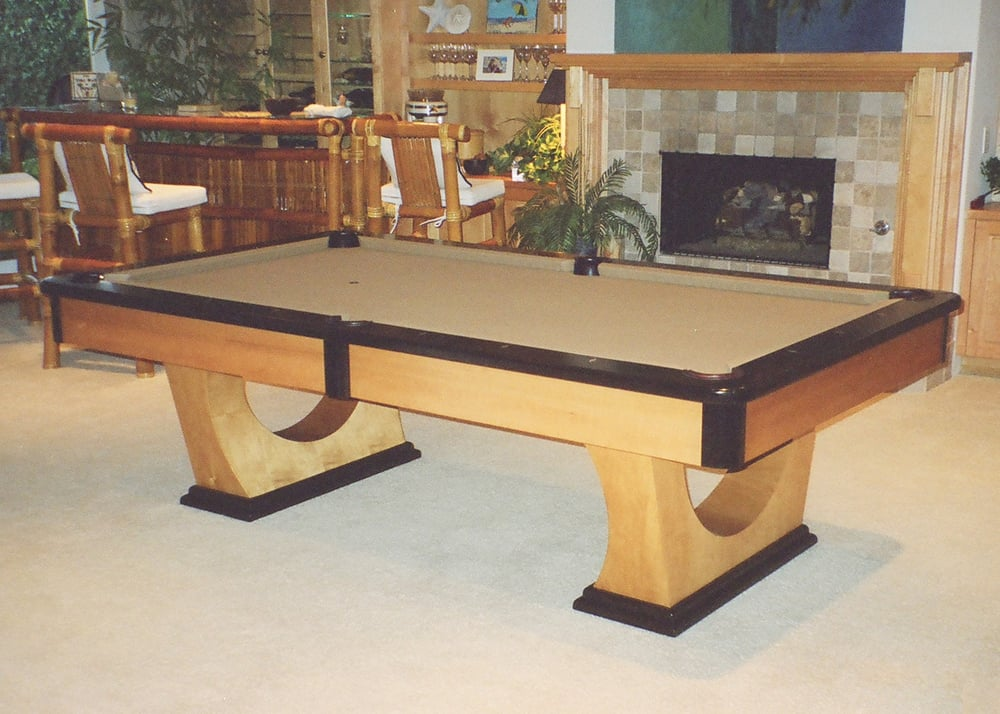 A Bassford Pool Table We Delivered Back When They Were