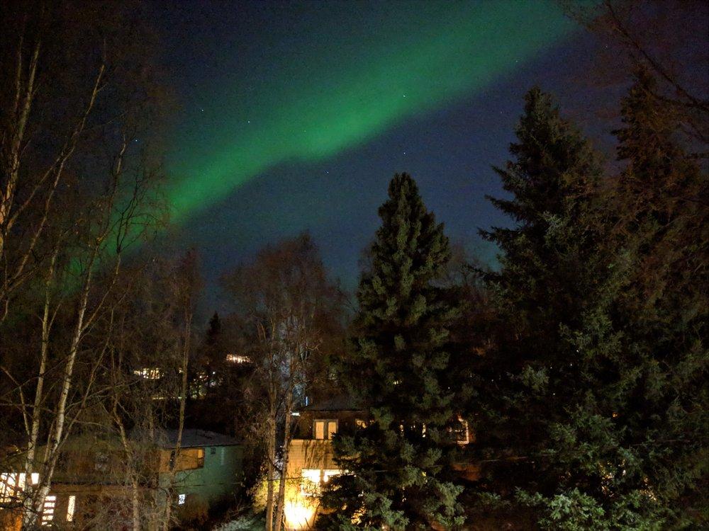 Aurora Borealis: Anchorage, AK