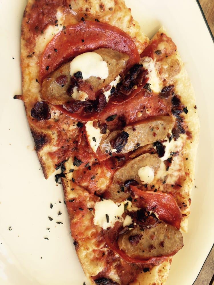Carnivore Pizza Sausage Pepperoni Bacon Yelp