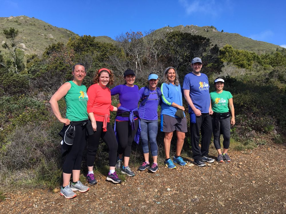Scenic Fit Outdoor Training: Nancy Pelosi Drive & Bowling Green Drive, San Francisco, CA
