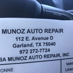 munoz auto repair 112 e avenue d garland tx yelp. Black Bedroom Furniture Sets. Home Design Ideas