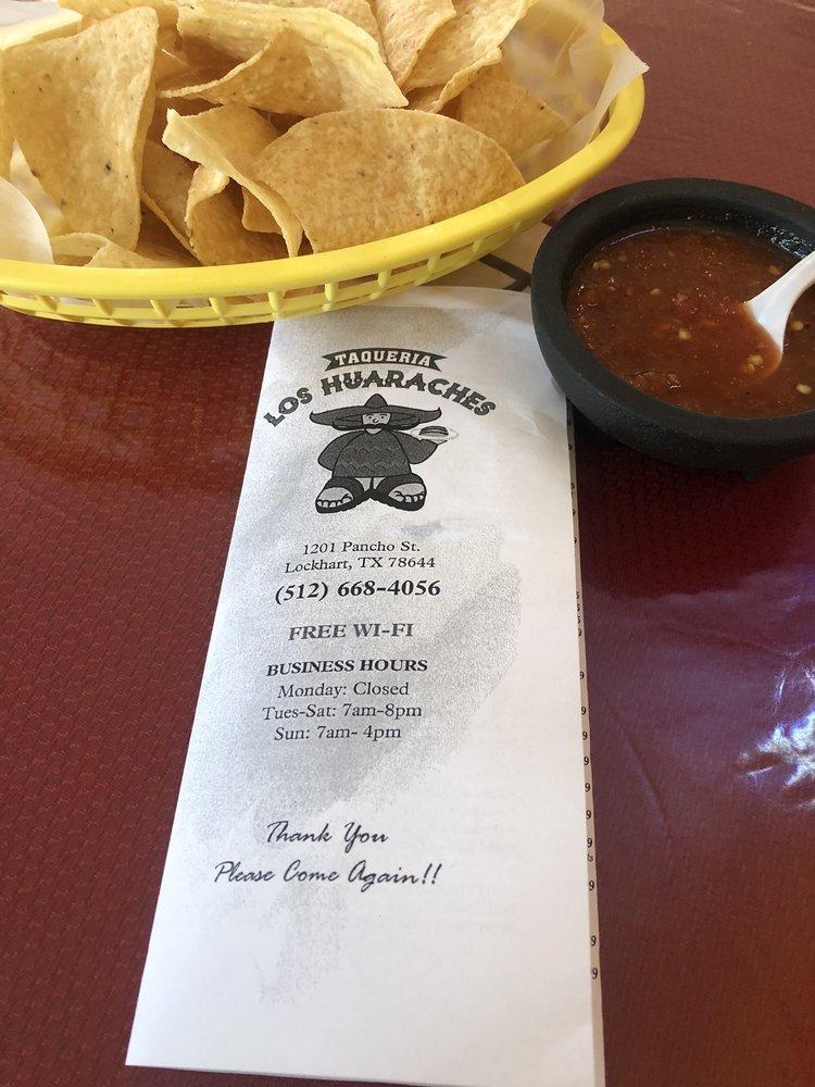Taqueria Los Huaraches: 1201 Pancho St, Lockhart, TX