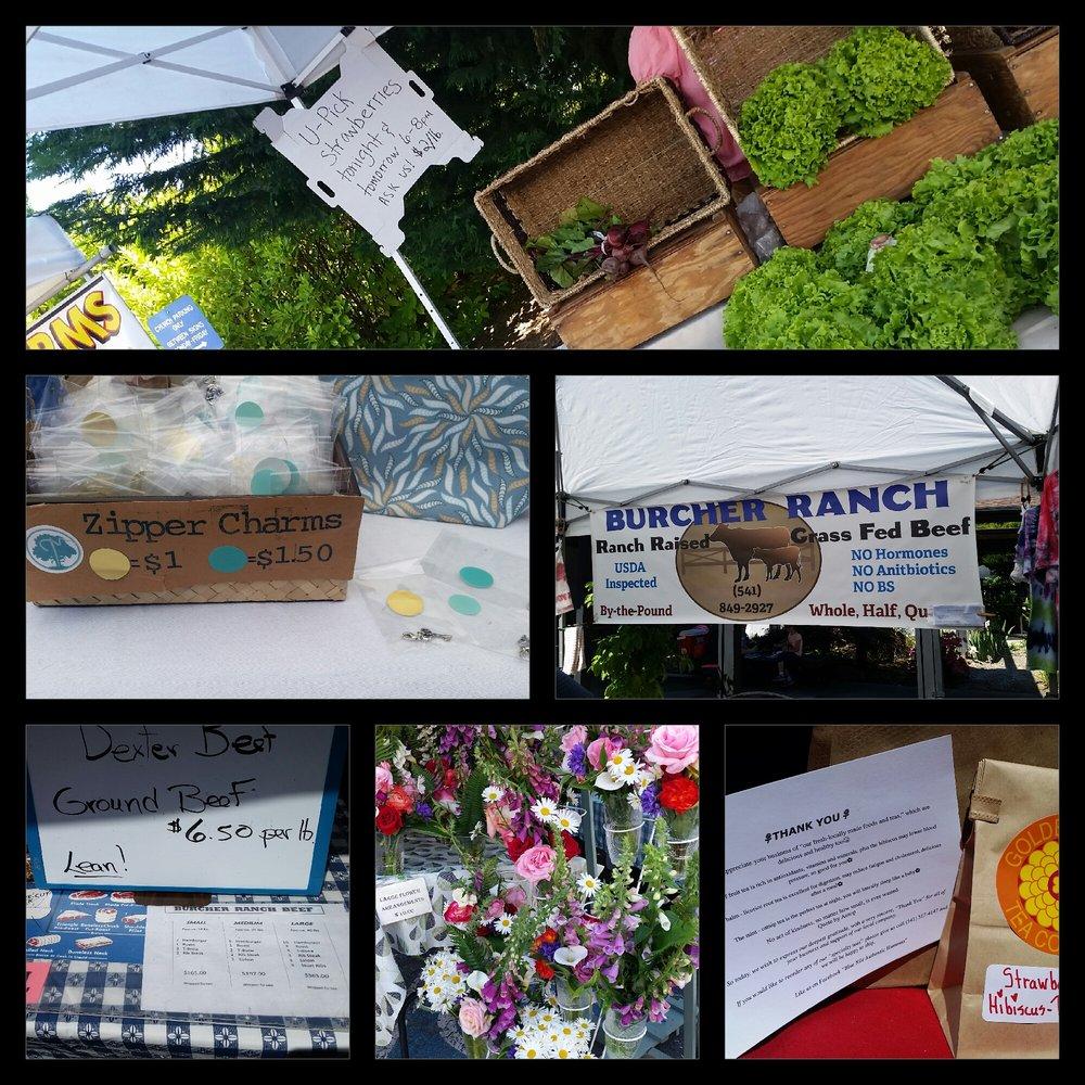 Umpqua Valley Farmers' Market: 1771 W Harvard, Roseburg, OR