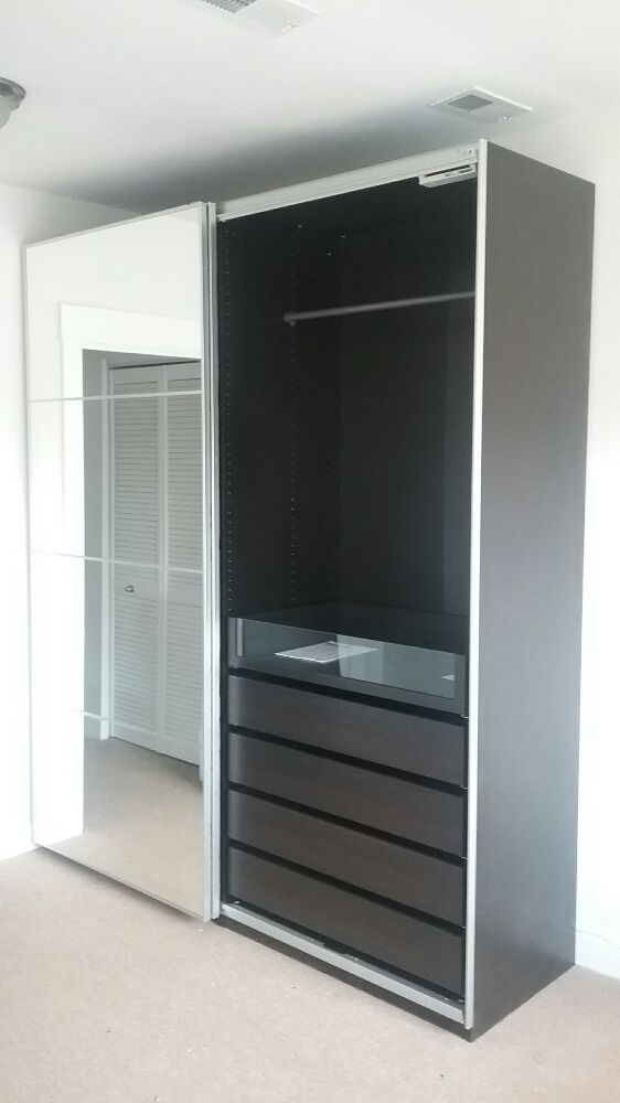 new style 04f6b 19ee0 IKEA Pax sliding doors and interiors 1 of 2. - Yelp