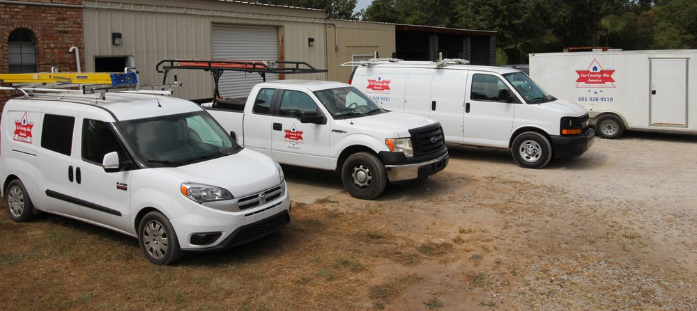 Tri County Air Service: 25 Pump Branch Rd, Wiggins, MS