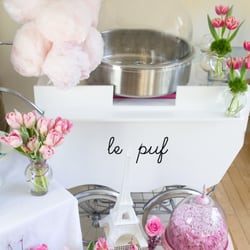 Le Puf Organic Cotton Candy Cart Request A Quote Party Supplies