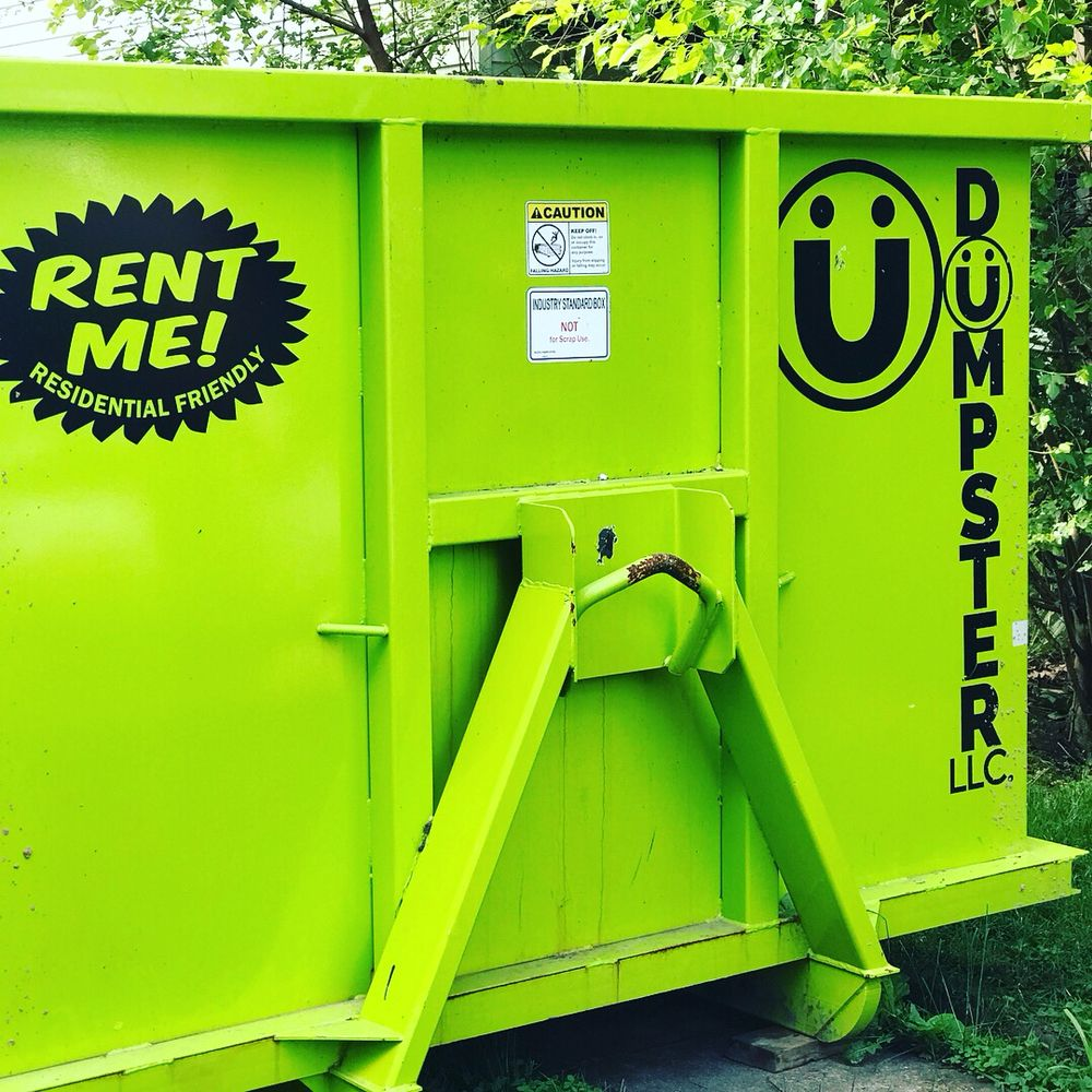 Dumpster: 16607 National Pike, Hagerstown, MD