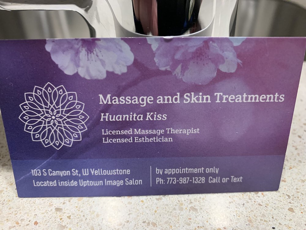 Huanita Kiss Massage Therapy: 103 S Canyon St, West Yellowstone, MT