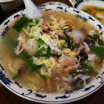 Photo Of Dowon Chinese Restaurant Honolulu Hi United States Seafood Vegetable Noodle