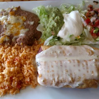 Photo Of Amigos Mexican Restaurant Dublin Oh United States Chimichanga