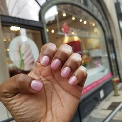 Photo Of Dashing Diva New York Ny United States Grapefruit Shimmer Color