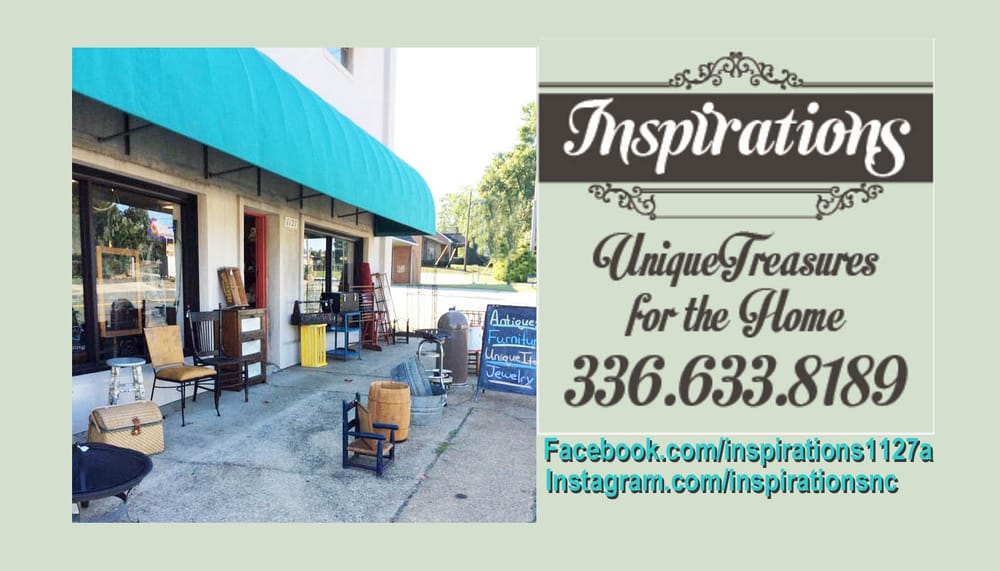 Inspirations: 1127A S Fayetteville St, Asheboro, NC