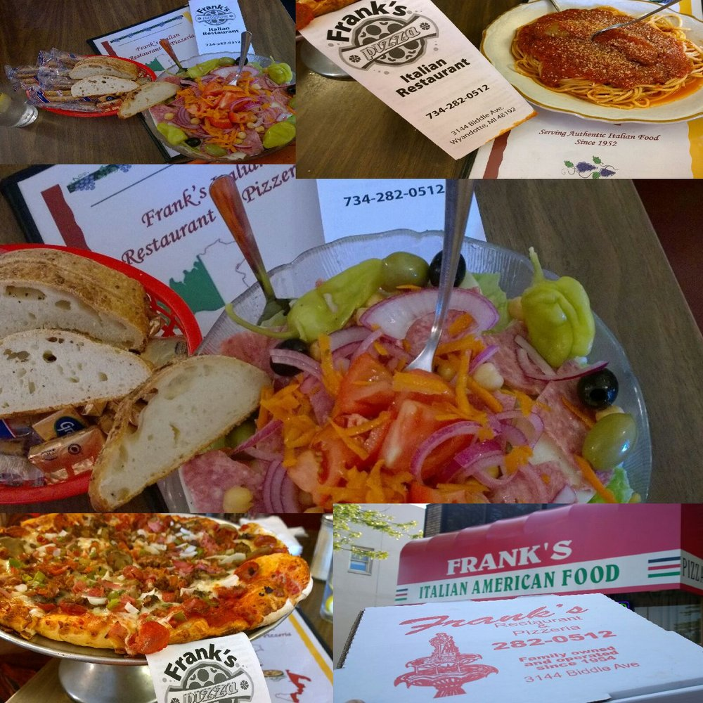 Franks Pizzeria & Restaurant: 3144 Biddle Ave, Wyandotte, MI